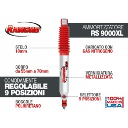 Tlmič RANCHO 9000 XL Shock...