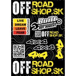 Sticker OFFROADSHOP.SK A4