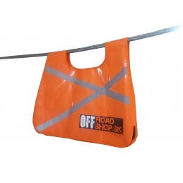 Safety cover for towing rope