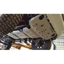 Skid plate - fuel tank...
